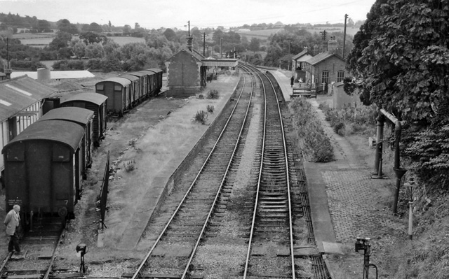 Bromyard Station (remains)