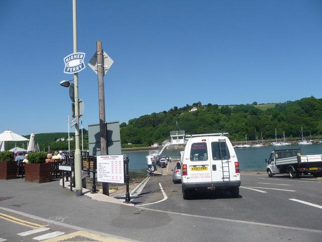 Dartmouth : Higher Ferry Crossing