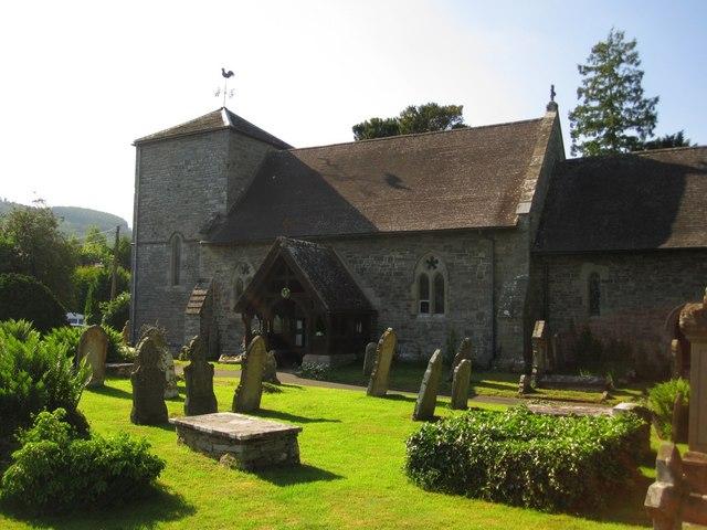 Llyswen: St Gwendoline's Church