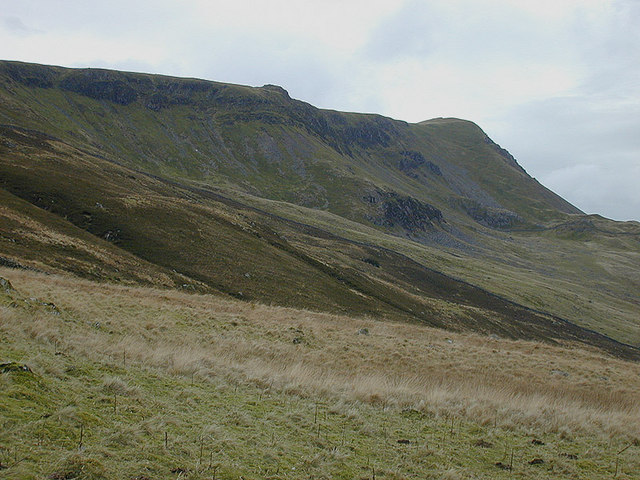 View towards Tyrrau Mawr