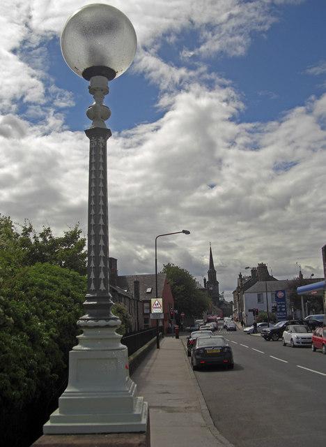 Lamp onVictoria Bridge, Haddington