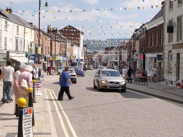 High Street, Welshpool