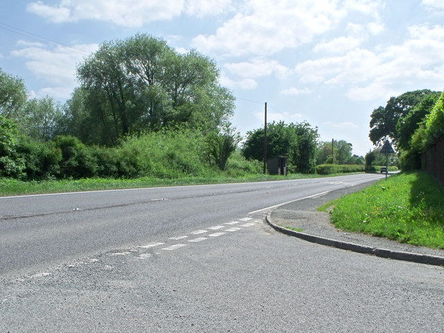 A483 at Pool Quay, Powys