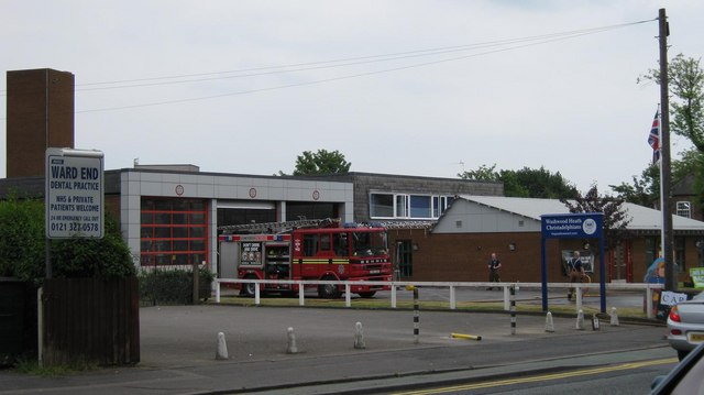 Ward End Fire Station