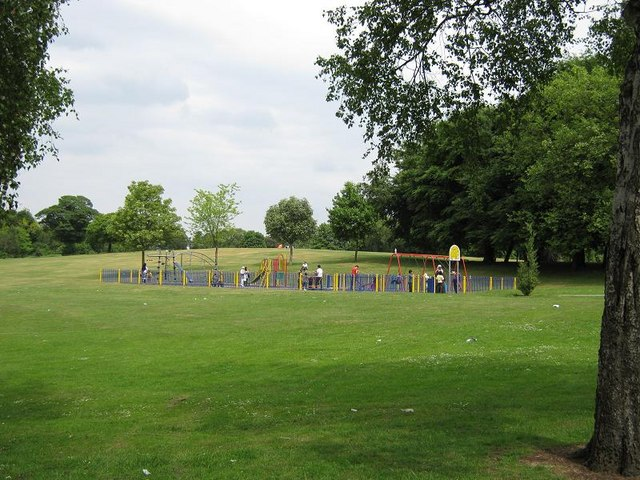 Children's Play Area, Ward End Park