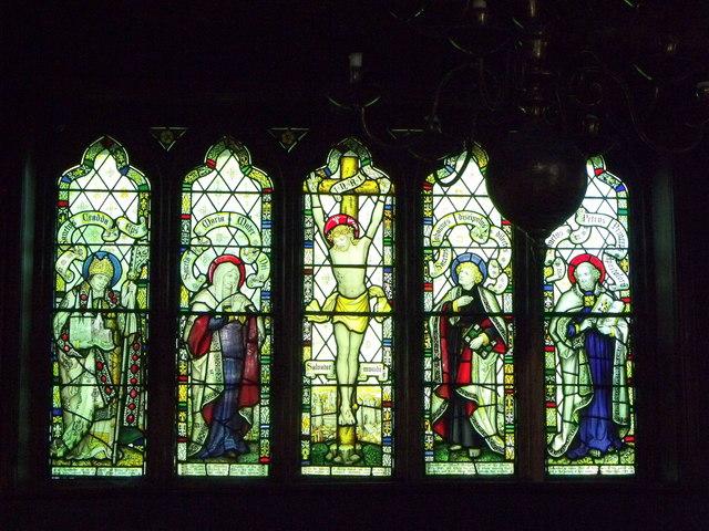 East window, St. Peter's, Melverley