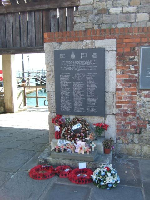 Falklands conflict memorial, Old Portsmouth
