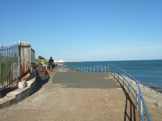 Promenade at Southsea Castle