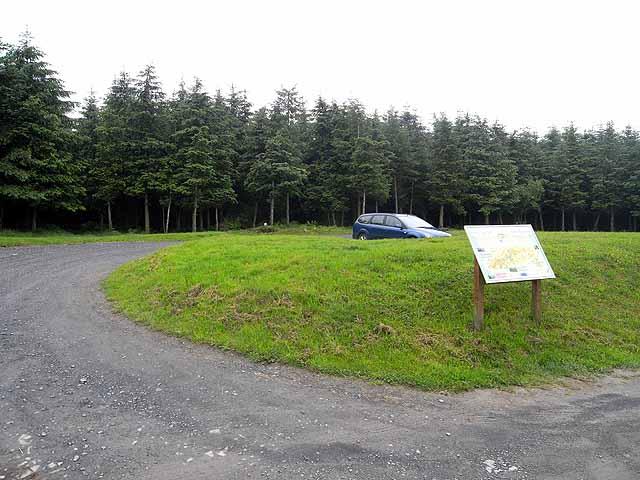 Sarn Hills car park