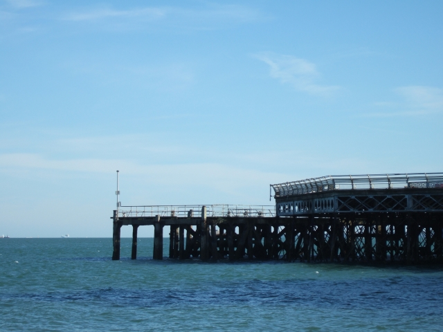 The southern end of South Parade Pier, Southsea
