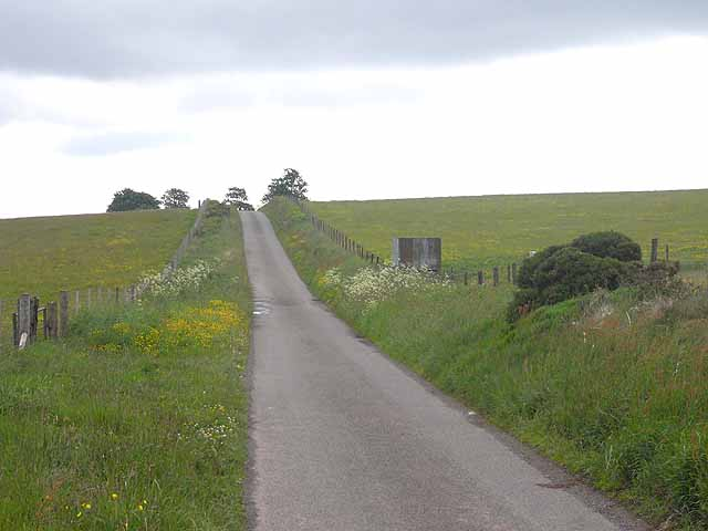 Road from Stoney Pound to Spoad Hill