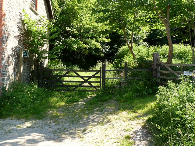 A footpath which leads from Upcott to Knowle