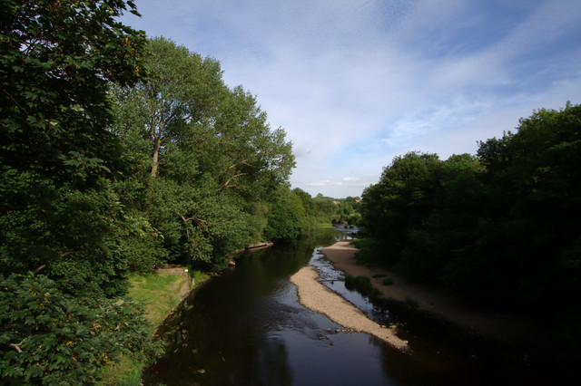 River Wharfe from Linton Bridge