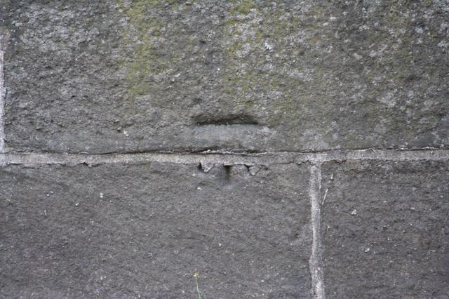Cut Bench Mark, Linton Bridge