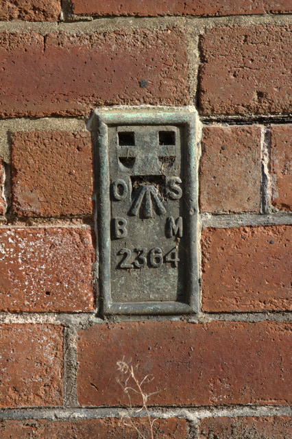 Flush Bracket Bench Mark, Sicklinghall School