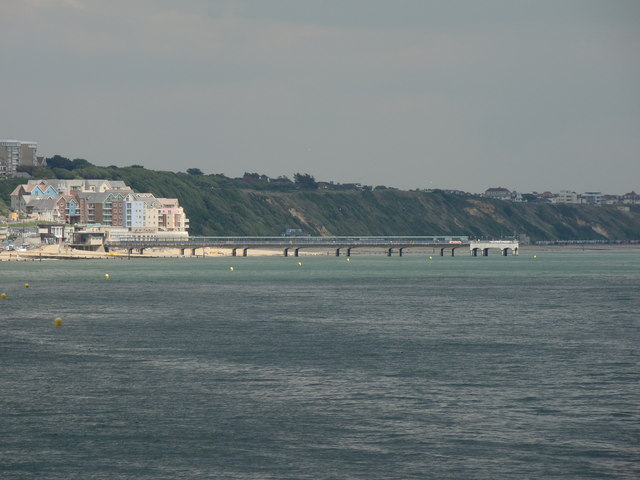 Small pier, viewed from the main pair