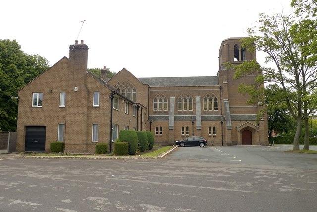 Holy Angels Catholic Church, Hale Barns, Cheshire