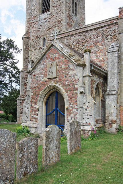 St Margaret, Clenchwarton, Norfolk - Porch