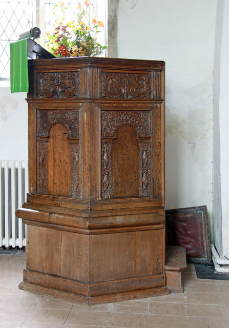 St Margaret, Clenchwarton, Norfolk - Pulpit