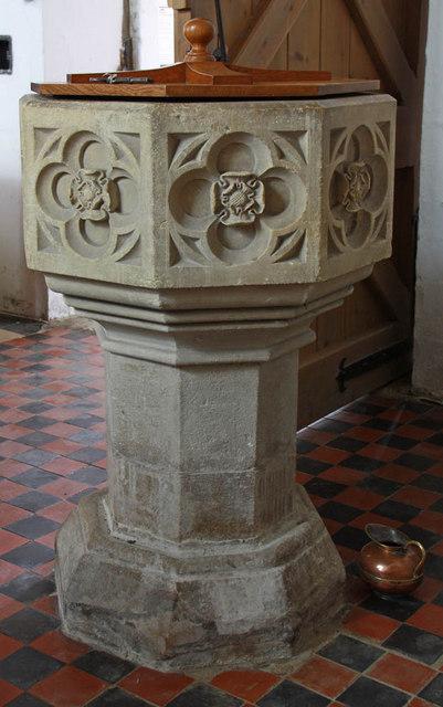 St Margaret, Clenchwarton, Norfolk - Font