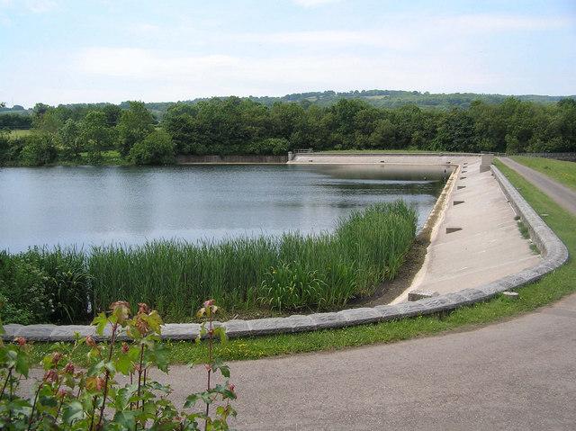 Dam at Litton Reservoir