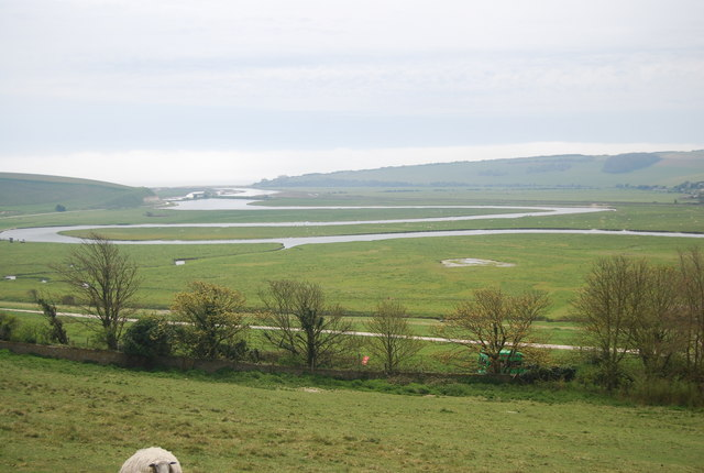 The Lower Cuckmere Valley