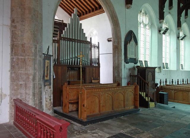 St Peter, West Lynn, Norfolk - Organ