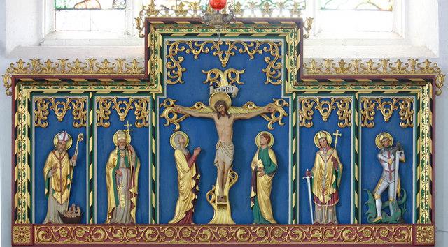 St Peter, West Lynn, Norfolk - Reredos