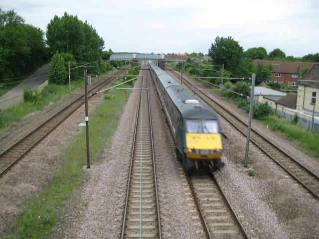 East Coast Main Line at Arlesey