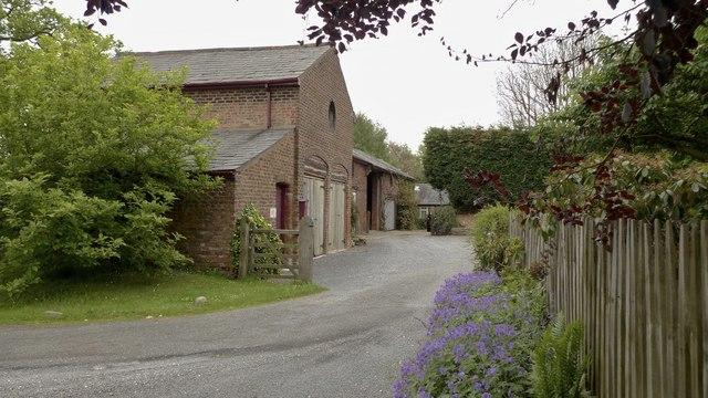 Entrance to Birkin Farm, Ashley, Cheshire