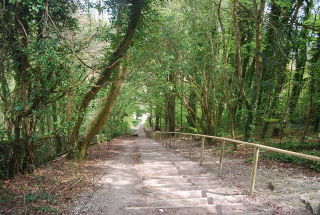 Steps down to Westdean