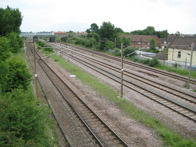 Arlesey: Site of the former Three Counties railway station