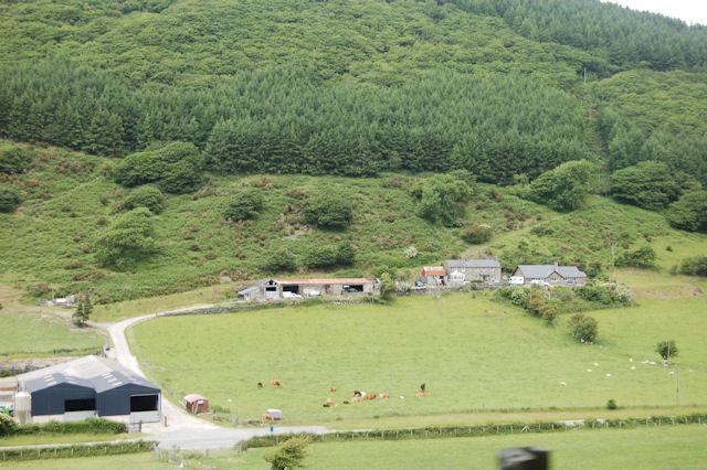 Tan-y-coed-uchaf farm from Talyllyn railway