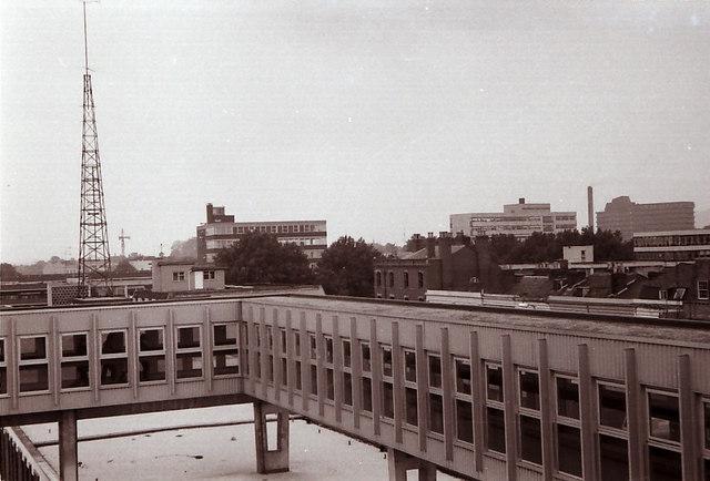 View across Gloucester