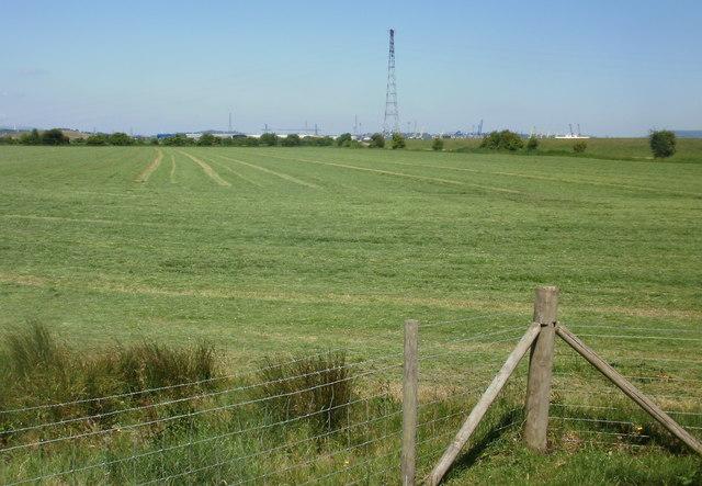 Field adjacent to former West Usk Lighthouse