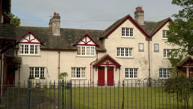 Houses in Rostherne village, Cheshire