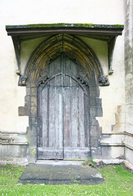 St Nicholas, King's Lynn, Norfolk - Doorway