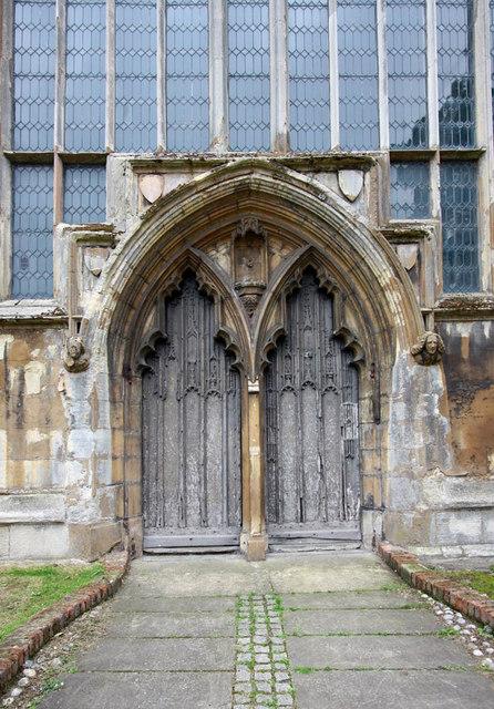 St Nicholas, King's Lynn, Norfolk - West doorway