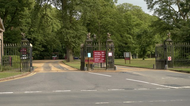 Main entrance to Tatton Park, Cheshire
