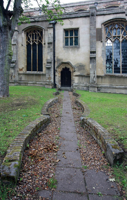 St Nicholas, King's Lynn, Norfolk - Path to doorway