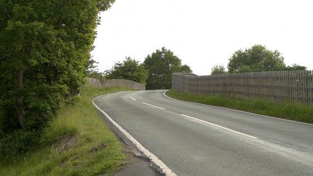 Rail bridge on the Ashley / Mobberley road