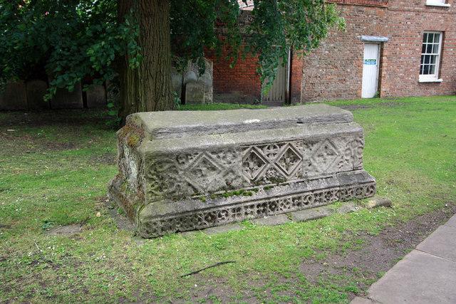 St Nicholas, King's Lynn, Norfolk - Gravestone