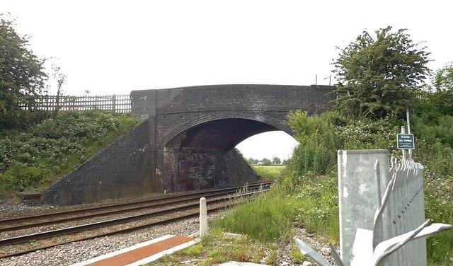 Bridge carrying the Ashley / Mobberley road, near Ashley