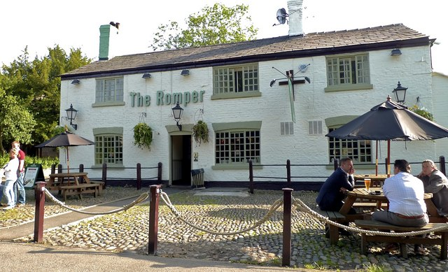 The Romper pub, Ringway, Cheshire