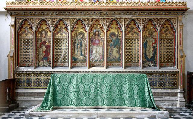 St Nicholas, King's Lynn, Norfolk - Reredos