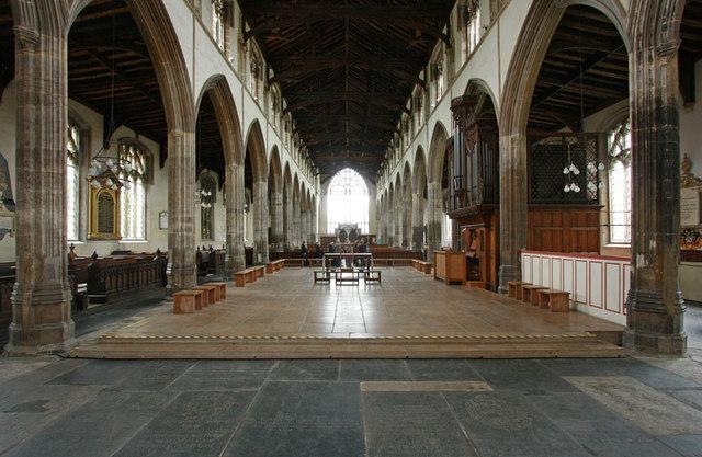 St Nicholas, King's Lynn, Norfolk - West end