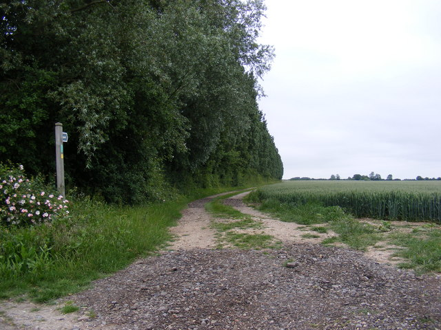 Footpath to Packway & Earlsway Farms