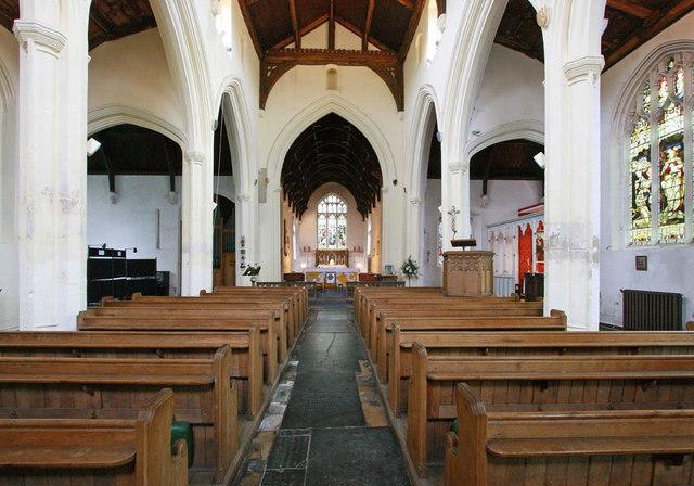 All Saints, King's Lynn, Norfolk - East end