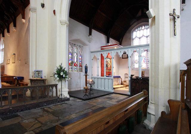 All Saints, King's Lynn, Norfolk - Interior