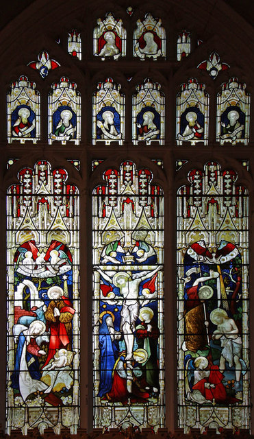 All Saints, King's Lynn, Norfolk - Window